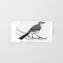 Northern mockingbird - Cenzontle - Mimus polyglottos Hand & Bath Towel