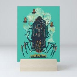 Not with a whimper but with a bang Mini Art Print