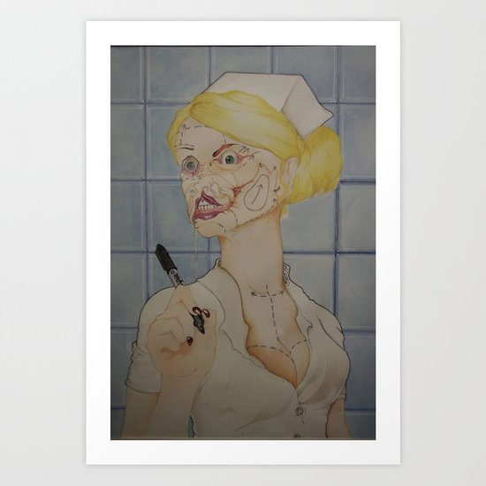 """""""Hold Still"""" Art Print"""