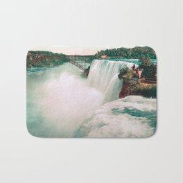 American Falls of Niagara - Photochrom - 1898 Bath Mat
