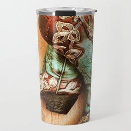 Cowboy Boots Travel Mug