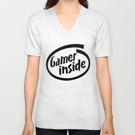 Gamer iNSIDE Unisex V-Neck