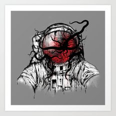 Space Parasitism Art Print