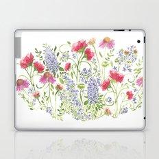 Flowering Meadow - Watercolor Laptop & iPad Skin