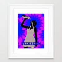 oil Framed Art Prints featuring Oil by SECESSION