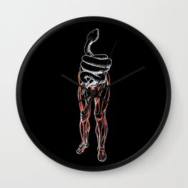Whoops! Torso is a Snake Wall Clock