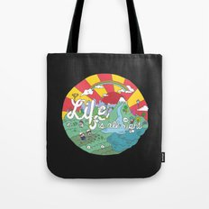 Life is All Right (Color) Tote Bag