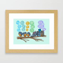 Spring Birds Framed Art Print