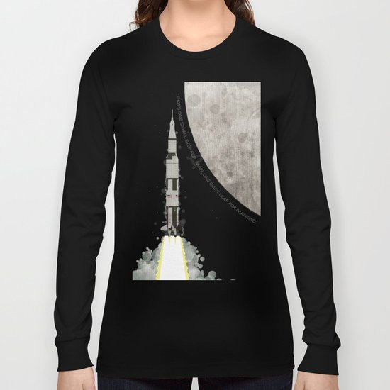 Apollo Rocket Long Sleeve T-shirt