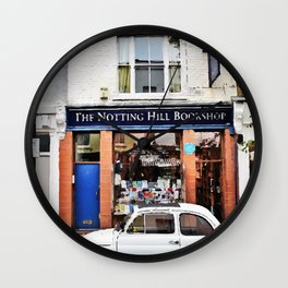Notting hill car Wall Clock