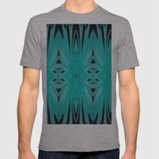 Petal Chain Mens Fitted Tee Tri-Grey SMALL