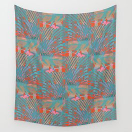 Coral Tides Wall Tapestry