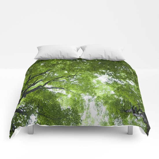 Leaves and Lace Comforters