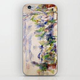 1902 - Paul Cezanne - Mont Sainte-Victoire iPhone Skin