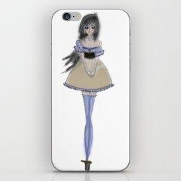 Shy Lolita Girl iPhone Skin