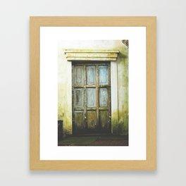 Bawa Door Framed Art Print