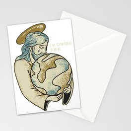 Jesus Coming Soon Stationery Cards