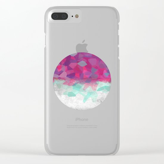 Festival Clear iPhone Case