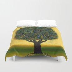 Surrealistic Landscape Duvet Cover