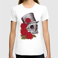 gentleman T-shirts featuring Dead Gentleman by Rachel Caldwell