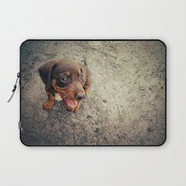 funny puppy Laptop Sleeve