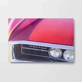 Classic cars - Pontiac Metal Print