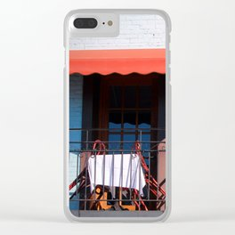 Balconies For Two Clear iPhone Case