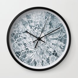 seeing with eyes closed Wall Clock