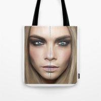 cara Tote Bags featuring Cara by Anna Sun