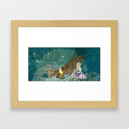 Print No. 2 from Natalie Unseen: The Mouse Queen's Bargain Framed Art Print