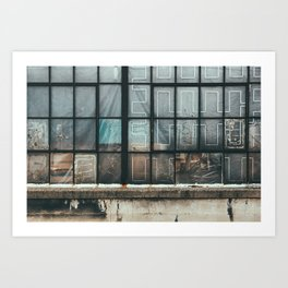 Dirty Windows Art Print