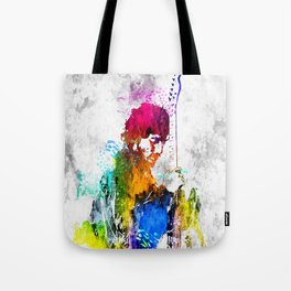 The Boss Bruce S. Grunge Tote Bag