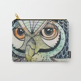 Colourful owl Carry-All Pouch