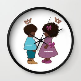 Little Prince and Princess - Baby Tim Edition Wall Clock