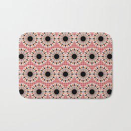 Black stars pattern Bath Mat