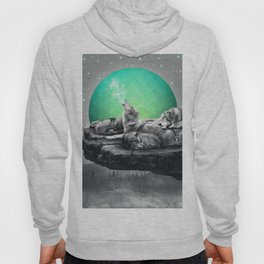 Echoes of a Lullaby / Geometric Moon Hoody