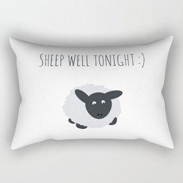 Sheep Well Tonight Rectangular Pillow