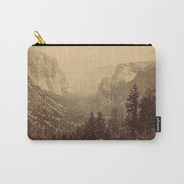 Yosemite Valley from Inspiration Point Carry-All Pouch