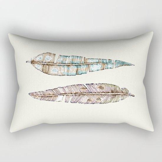 feather x2 Rectangular Pillow