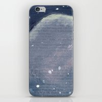 outer space iPhone & iPod Skins featuring Outer Space  by Amanda Powzukiewicz