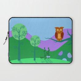 Old Owl Laptop Sleeve