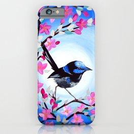 Superb Fairy Wren iPhone Case