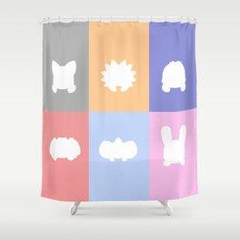 Cute Critter Gang KO Shower Curtain