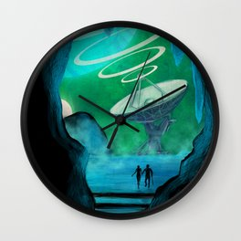 Expansion Volume IV Poster Wall Clock