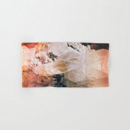 Dreamy Large Quartz Crystals Hand & Bath Towel