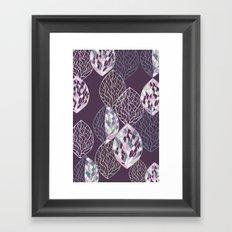 Leaf Print2 Framed Art Print