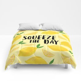 Squeeze the Day Comforters
