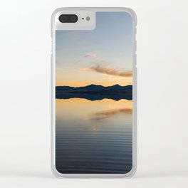 The Great Salt Lake Clear iPhone Case