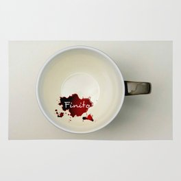 Il caffè... finito Rug