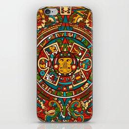 Aztec Mythology Calendar iPhone Skin
